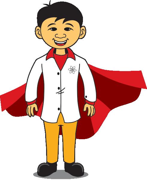 Superhero Science Kid